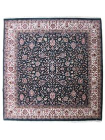 Handmade Square Fine Indian Kashan